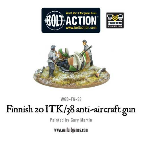 Bolt Action: Finnish 20 ITK/38 Anti-Aircraft Gun