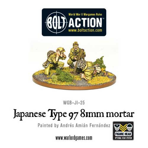 Bolt Action: Imperial Japanese Type 97 81mm Mortar