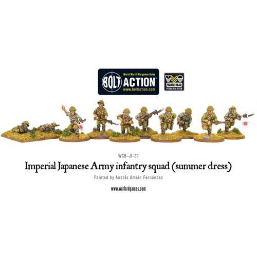 Bolt Action: Imperial Japanese Army Infantry Squad (Summer Dress)