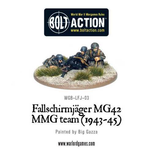 Bolt Action: Fallschirmjager MG42 MMG Team