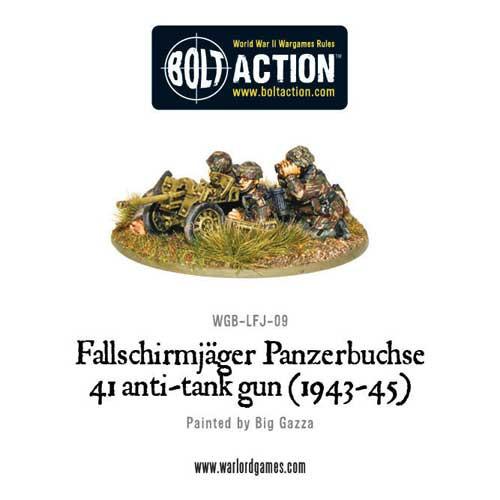 Bolt Action: Fallschirmjager Panzerbuche 41 Anti-Tank Gun