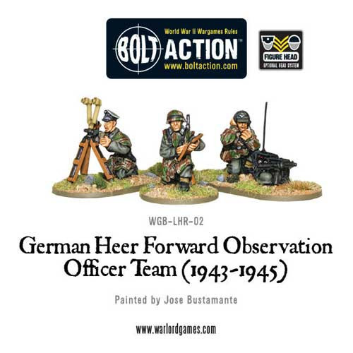 Bolt Action: German Heer Forward Observation Team (FOO)