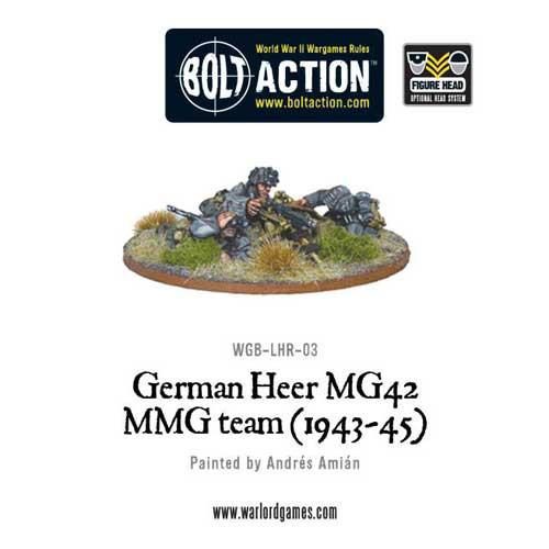 Bolt Action: German Heer MG42 MMG Team