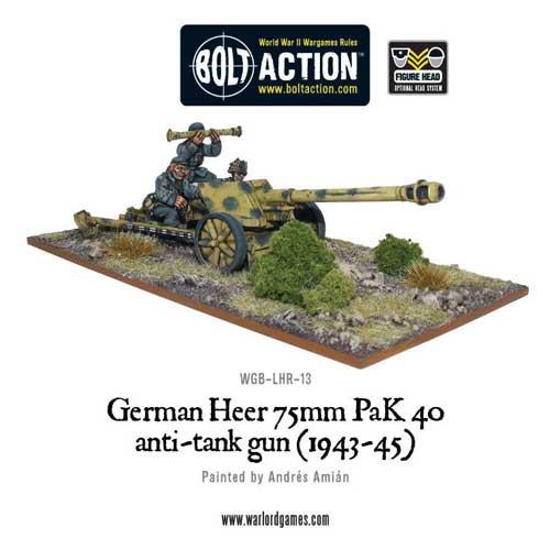 Bolt Action: German Heer PaK 40