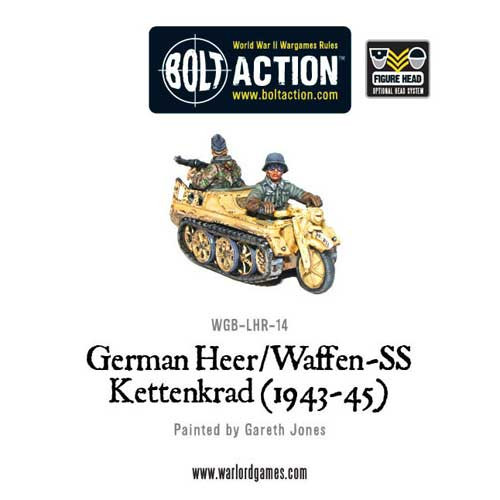 Bolt Action: German Heer/Waffen-SS Kettenkrad
