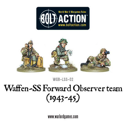 Bolt Action: Waffen-SS Forward Observer Team