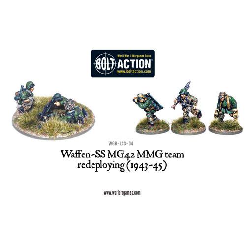 Bolt Action: Waffen-SS MG42 MMG Team