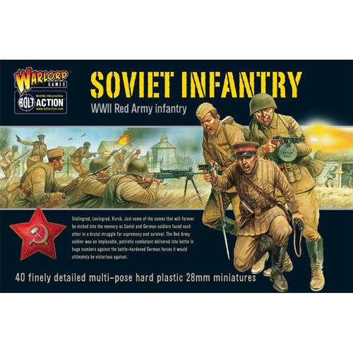 Bolt Action: Soviet Infantry