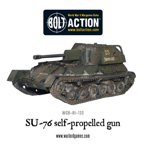 Bolt Action: SU-76 Self Propelled Gun