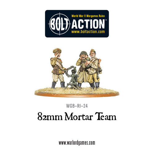 Bolt Action: Soviet 82mm Mortar