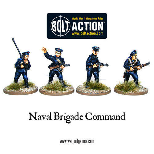 Bolt Action: Soviet Naval Brigade Command