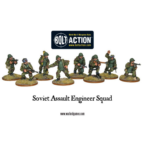 Bolt Action: Soviet Assault Engineer Squad