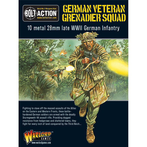 Bolt Action: Veteran Grenadiers Squad