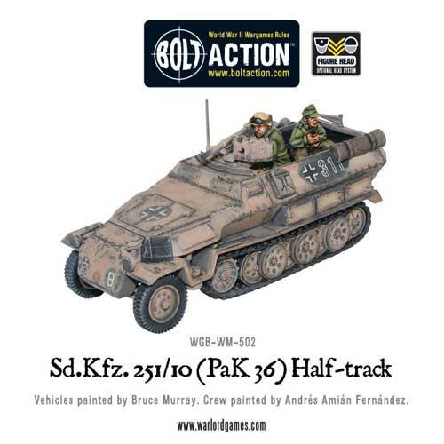 Bolt Action: Sd.Kfz 251/10 Pak 36 Half-Track