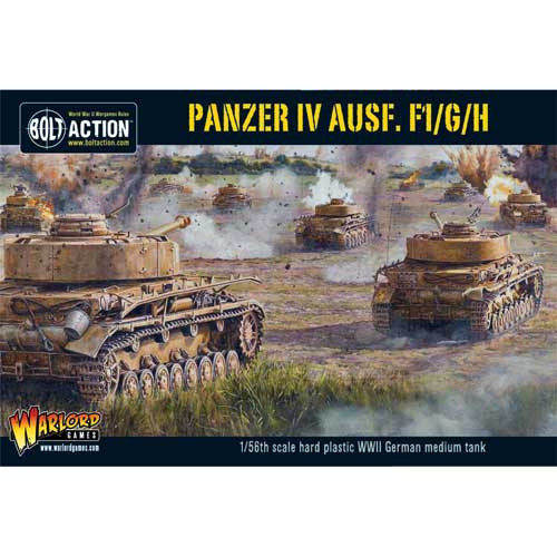 Bolt Action: Panzer IV Ausf. F1/G/H Medium Tank