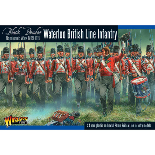 Black Powder: British Line Infantry (Waterloo)