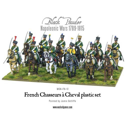 Black Powder: Napoleonic French Chasseurs & Cheval Light Cavalry