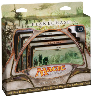 Magic The Gathering Planechase Game Pack (Zombie Empire)