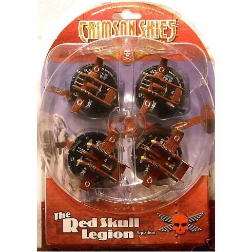 Crimson Skies Squadron Pack #4 - The Red Skull Legion
