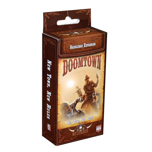 Doomtown: Reloaded - New Town, New Rules Saddlebag Expansion