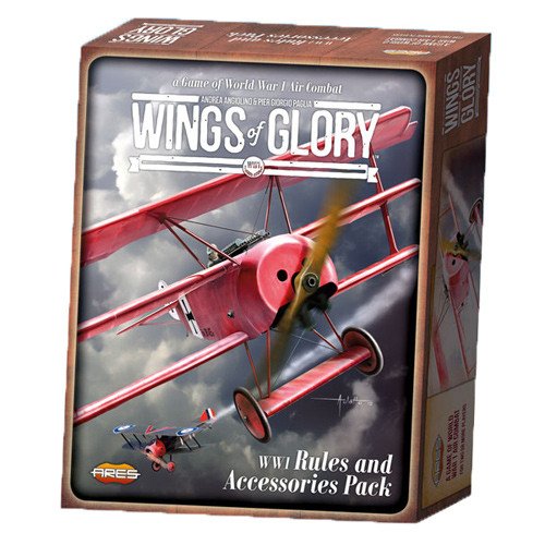 Wings of Glory: WWI - Rules And Accessories Pack