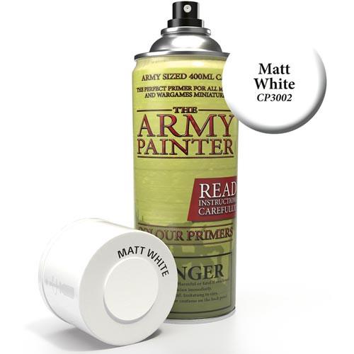 Army Painter Color Primer: Matt White