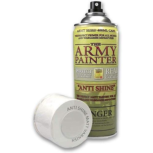 Army Painter Spray Sealant: Anti-Shine Matte