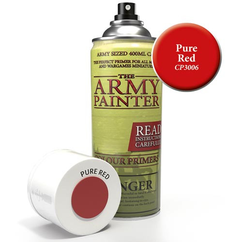 Army Painter Color Primer: Pure Red