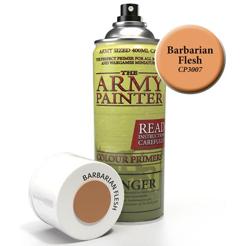 Army Painter Color Primer: Barbarian Flesh