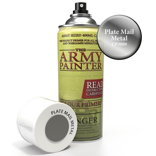 Army Painter Color Primer: Plate Mail Metal