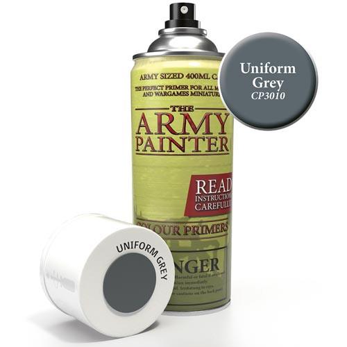 Army Painter Color Primer: Uniform Grey