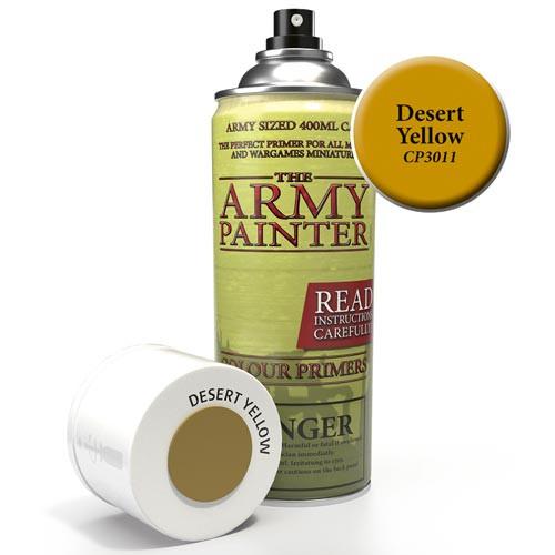 Army Painter Color Primer: Desert Yellow