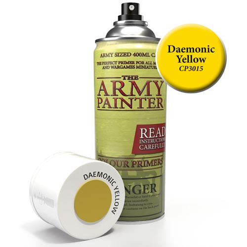 Army Painter Color Primer: Daemonic Yellow