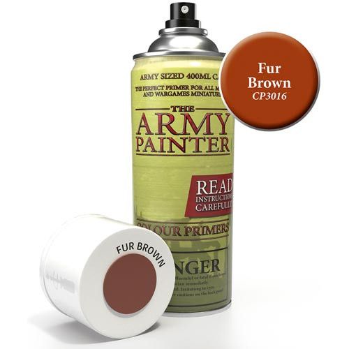 Army Painter Color Primer: Fur Brown