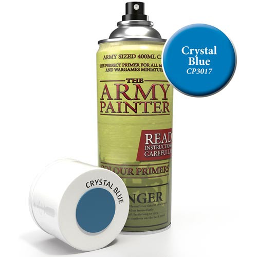Army Painter Color Primer: Crystal Blue