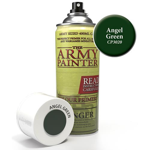 Army Painter Color Primer: Angel Green
