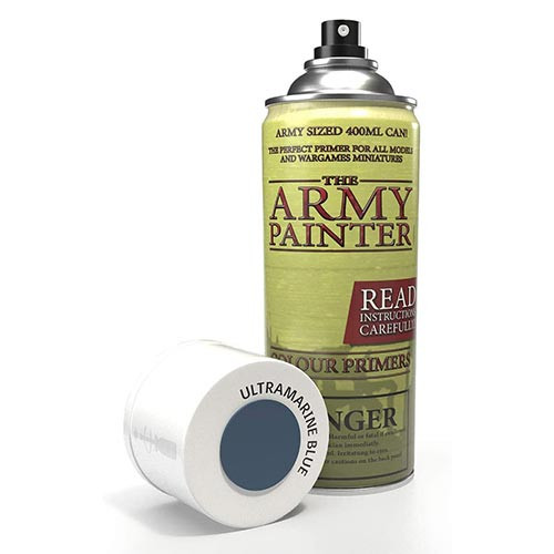 Army Painter Base Primer: Ultramarine Blue