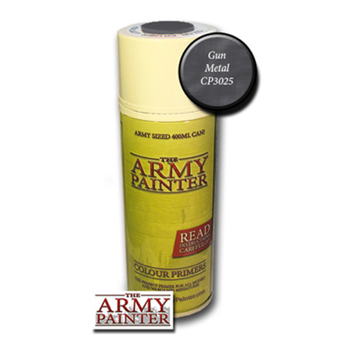 Army Painter Color Primer: Gun Metal