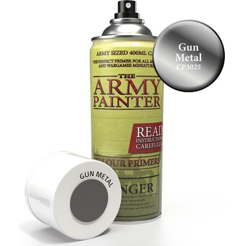 Army Painter Color Primer: Gun Metal