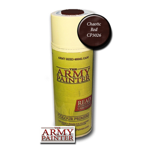 Army Painter Color Primer: Chaotic Red