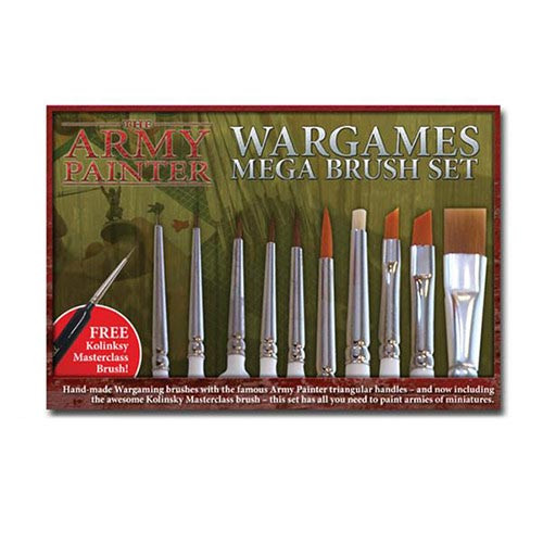 Army Painter Mega Brush Set