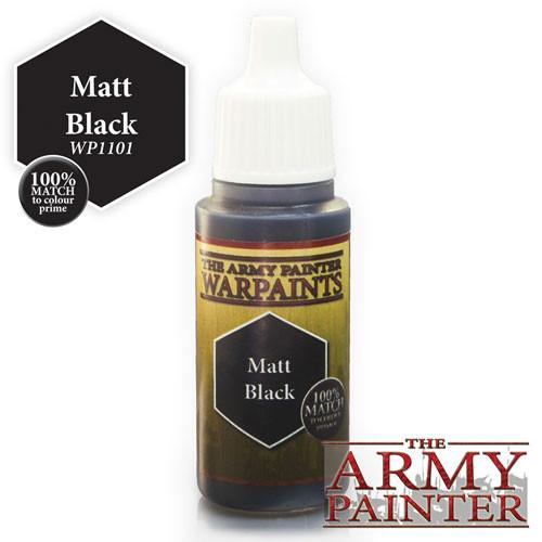 Army Painter Warpaint - Matte Black