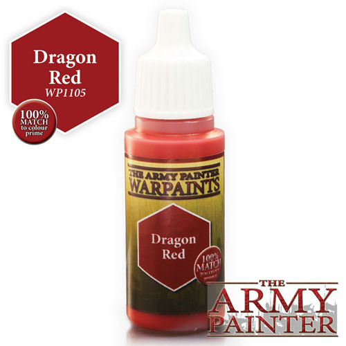 Army Painter Warpaint: Dragon Red