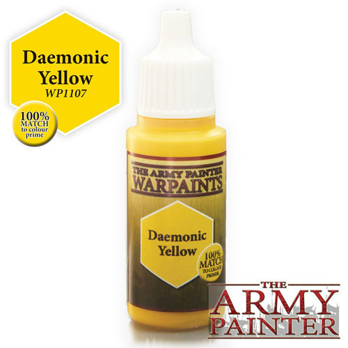 Army Painter Warpaint - Daemonic Yellow