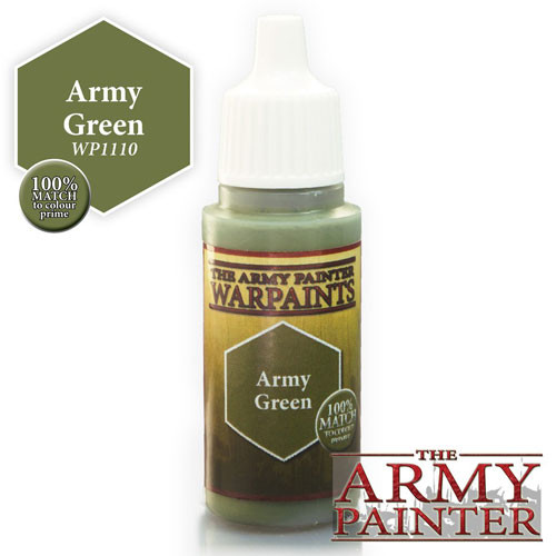 Army Painter Warpaint: Army Green