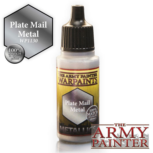 Army Painter Warpaint: Plate Mail Metal