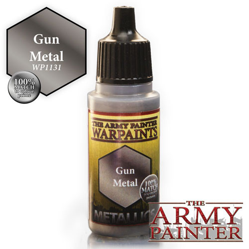 Army Painter Warpaint - Gun Metal