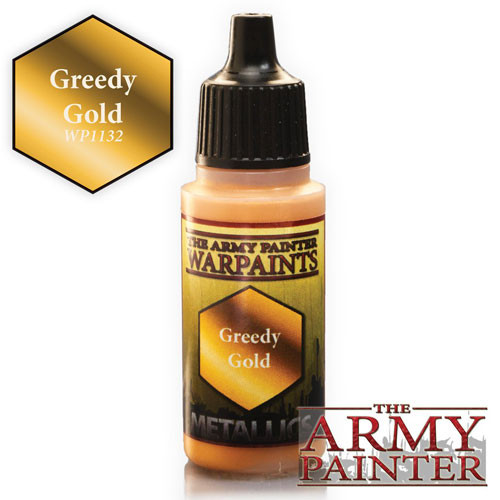 Army Painter Warpaint: Greedy Gold