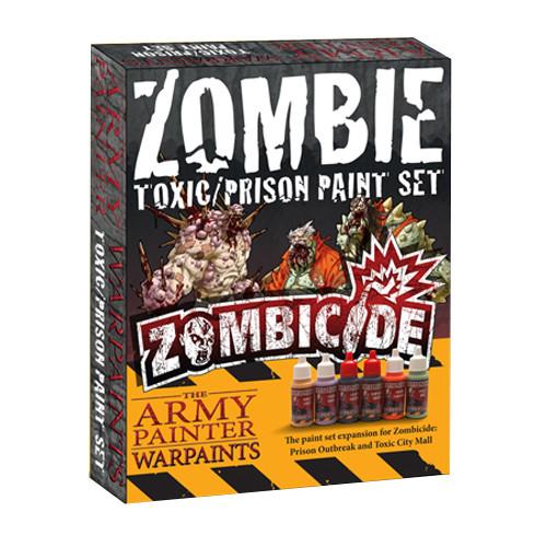 Zombicide: Zombie Toxic/Prison Paint Set