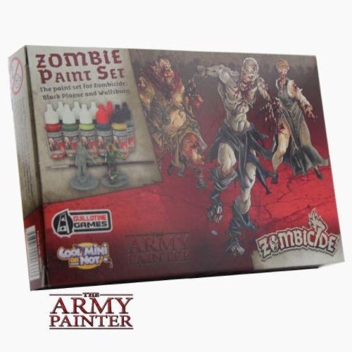 Army Painter: Zombicide - Black Plague Paint Set